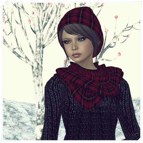 Hatpins - Knit Hat and Scarf