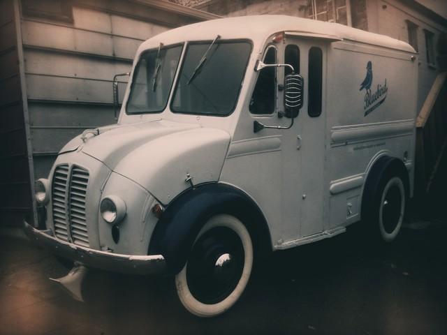 Bluebird Ice Cream Truck