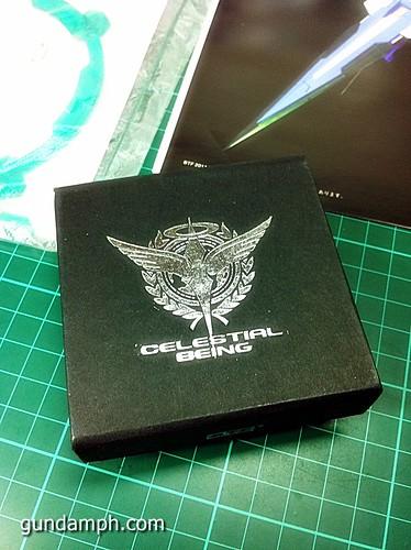 GN Sword 4 IV Full Saber QuanT 1-100 BTF Coversion Kit Unboxing (10)