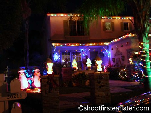 Houses with Christmas Lighting in California-7