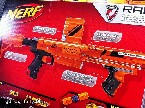 NERF Sale 50% Off Stampede Raider Recon Unboxing Review (55)