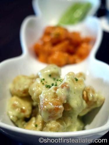 Morimoto Napa- rock shrimp tempura