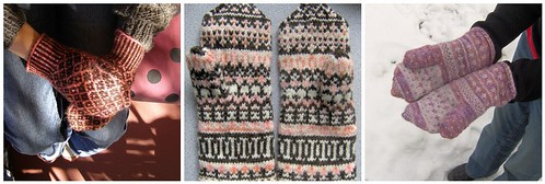 colorwork mittens