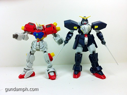 MSIA Devil Gundam First Form Unboxing Review Huge (43)