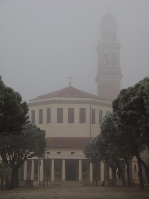 Nebbia alla Rotonda - Rovigo