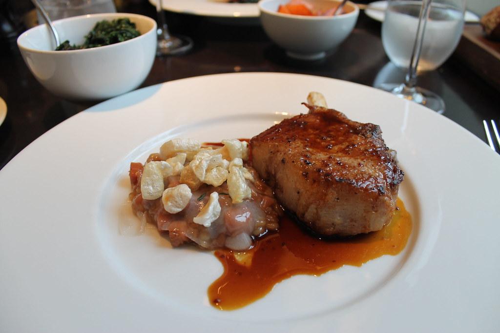 The Black Foot pork chop