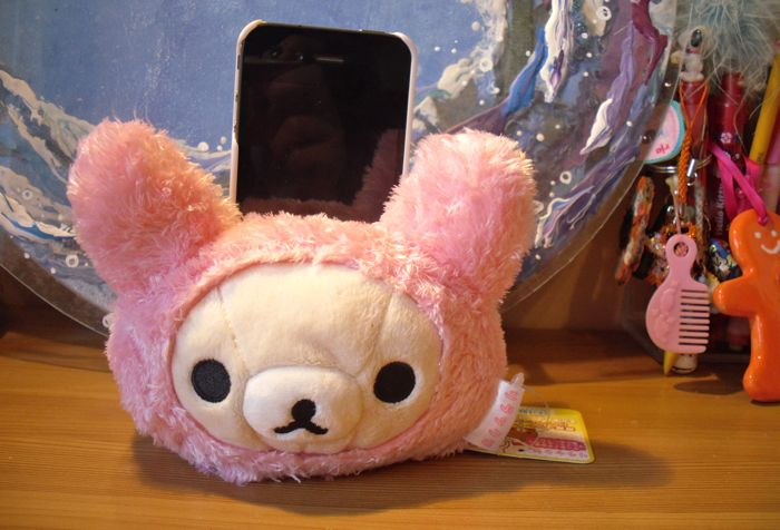 phone holder rilakkuma