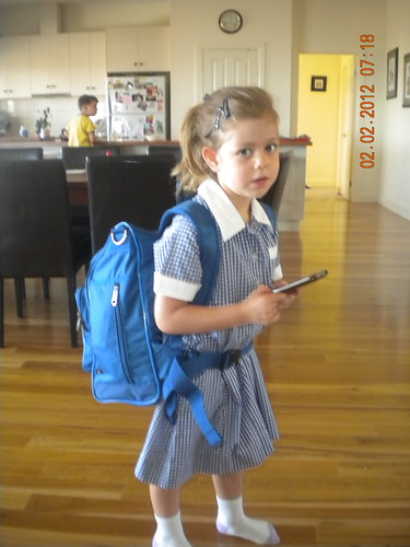 Sophie's First Day of School