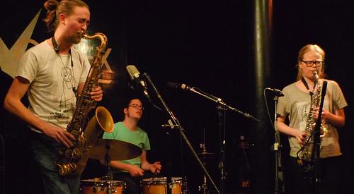 Trio Riot @ the Vortex,1.2.12