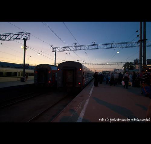 El Tren del Transiberiano que nunca cogimos
