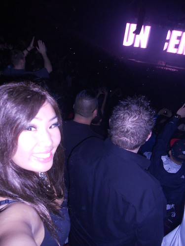 Me at Watch the Throne