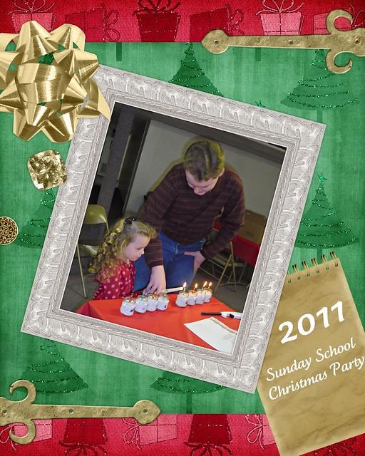 2011 Sunday School Christmas Party