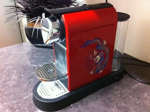 Nespresso Year of the Dragon Coffee Machine