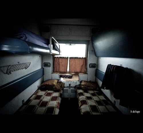 Interior compartimento clase Kupe
