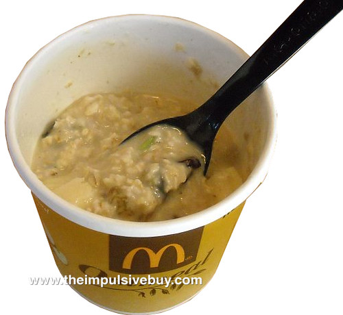 McDonald's Apple Cinnamon Walnut Oatmeal