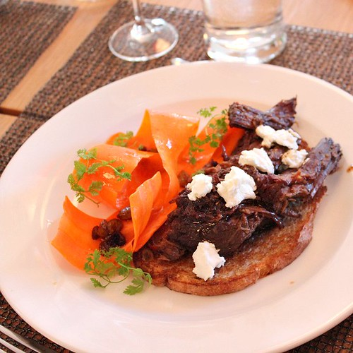 *Braised Beef Masala Sandwich