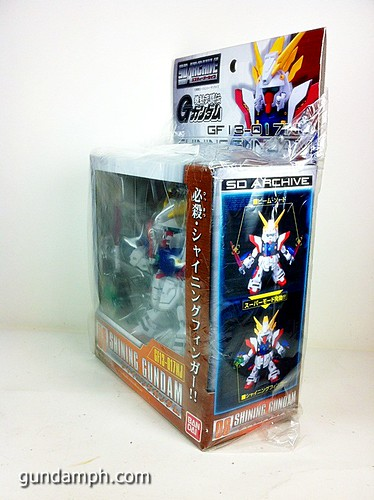 SD Archive Shining Gundam Unboxing Review (3)