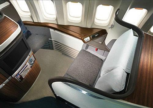 Cathay Pacific First Class Suite by bloompy