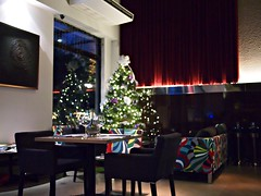 Christmas Tree, Verre Wine Bar, 8 Rodyk Street