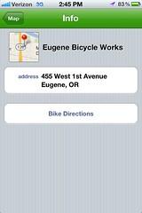 Bike Maps App - Info