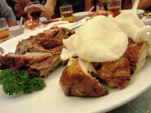 Roast duck & chicken