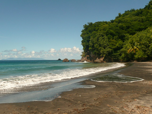 anse ceron, martinique, best beaches in martinique