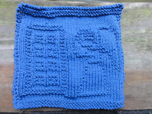 Doctor Who The Angels Have the Blue Box Dishcloth