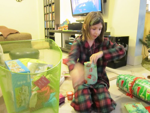 Sym Opening Presents Christmas Morning