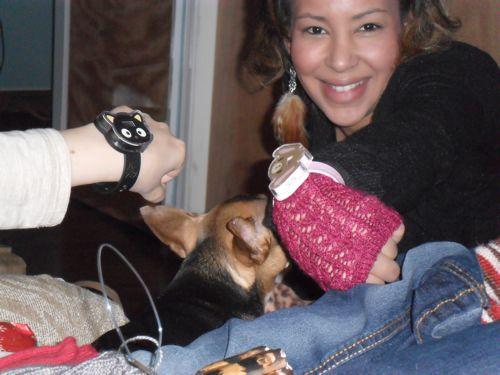 synchronize hello kitty watches