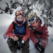 All Smiles. So much Powder