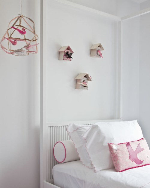 Darling Pink Girl's Bedroom