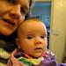 Roberta with Mum