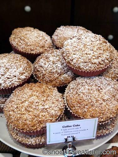 Bouchon Bakery- coffee cake