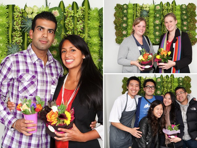 photo of people and their posies