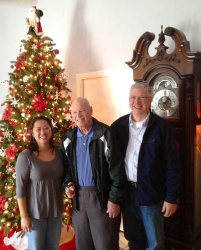 Me, Granpa, Mark Dec2011