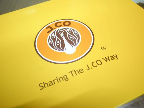 J.Co Donuts Box