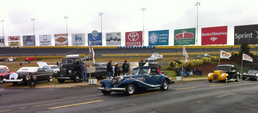 1934 500k mercedes heritage motors kit frank j penner for Charlotte motor speedway car show