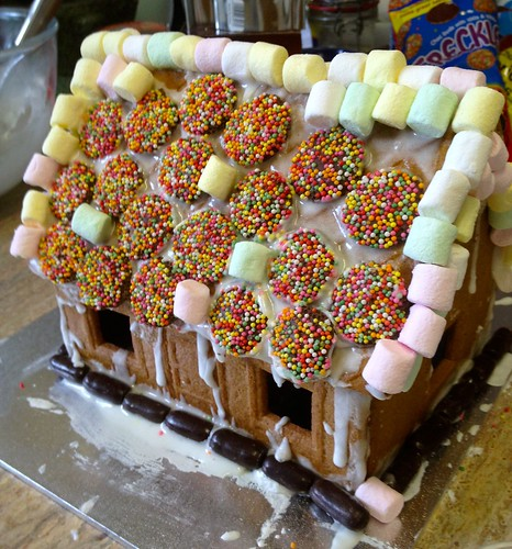 World's Ugliest Gingerbread House
