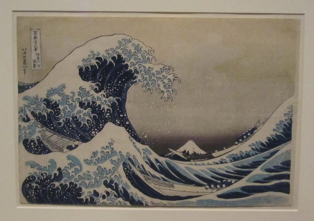 Hokusai's Great Wave at the British Museum