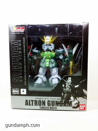 SD Gundam Online Capsule Fighter ALTRON Toy Figure Unboxing Review (1)