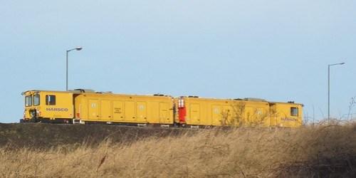 Harsco RGH20C Rail Grinder