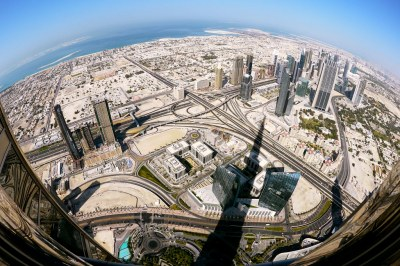 The NW view of Dubai from the Burj Khalifa | Flickr ...