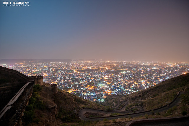 Jaipur by night.