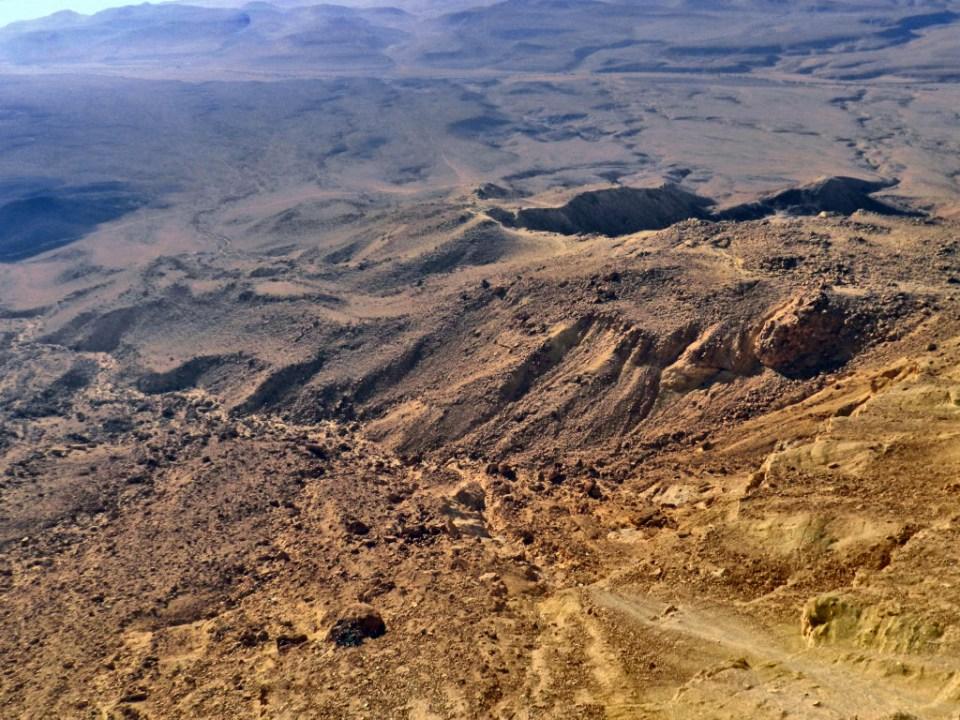 Cráter Ramón en Mitspe Ramón Israel 06