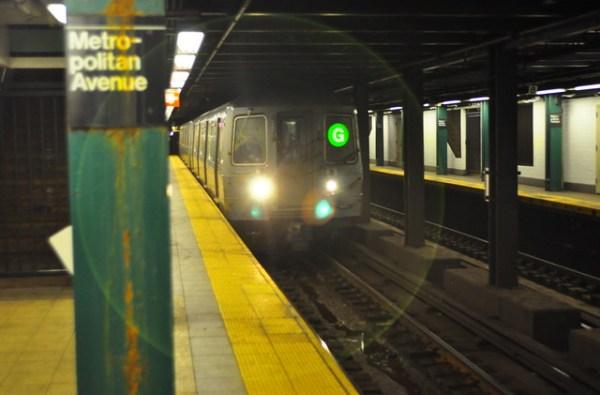 G Train Halo