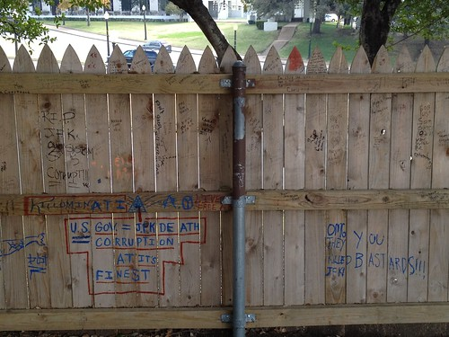 The picket fence on the Grassy Knoll