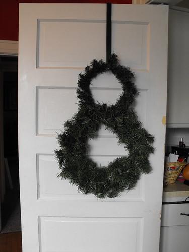 Snowman wreath 2
