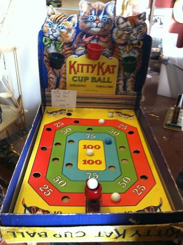 Kitty Kat Cup Ball