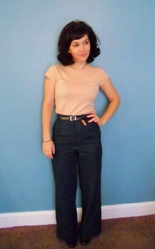 Lauren's high waisted trousers