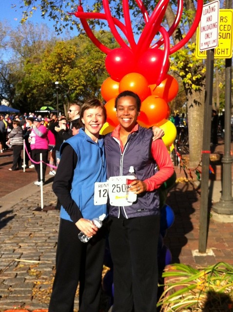 Big Gay 5k Finishers - me and Missy